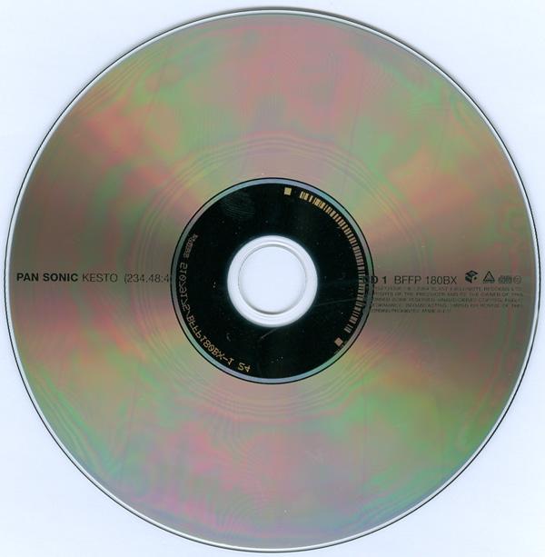 Pan Sonic - Kesto (234.48:4) - CD1