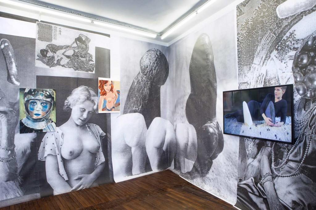 vue d'exposition, La Femme de trente ans, Art:Concept. Photo : Dorine Potel. Courtesy des artistes et Art : Concept, Paris