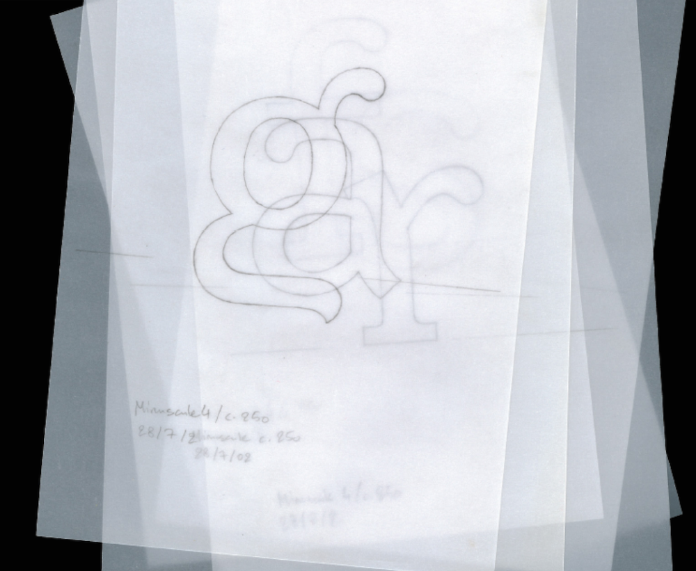 Thomas Huot-Marchand, dessin du Minuscule corps 6, 2006