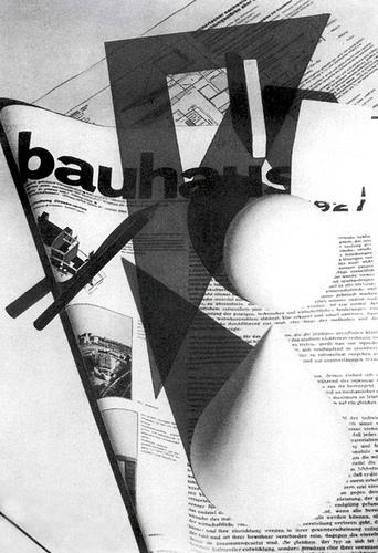 Herbert Bayer, couverture Bauhaus Zeitschrifte n°1, 1928