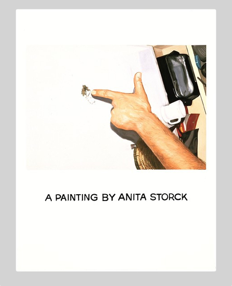 John Baldessari, Commissioned Painting: A Painting by Anita Storck (1969)