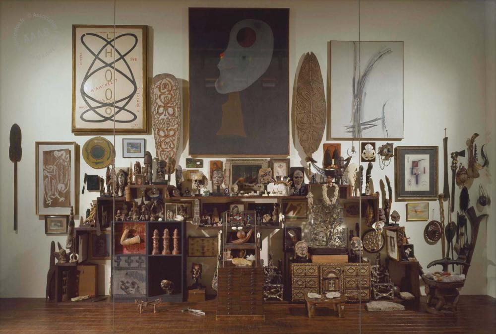 Mur André Breton, 1922-1966