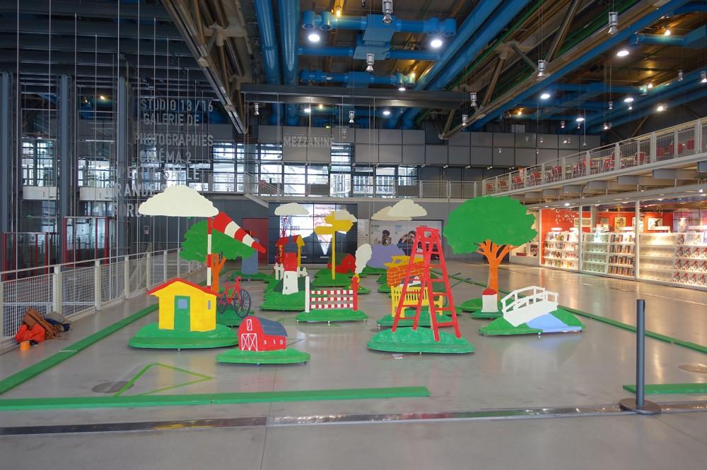 Paul Cox, Aire de jeu, Centre Pompidou, 2015