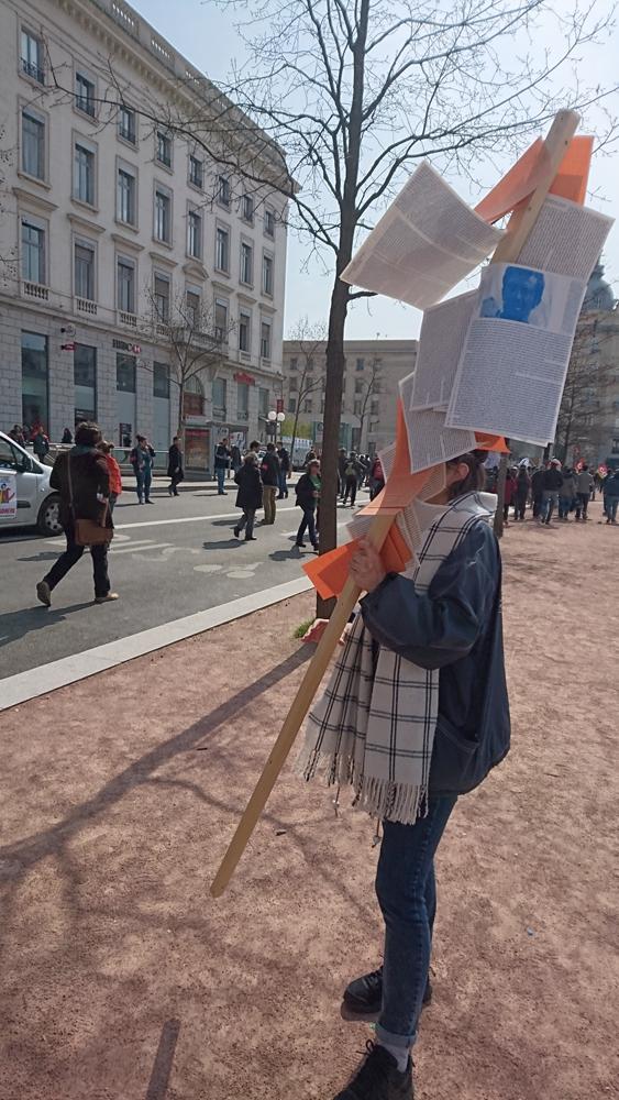Bâton, Mouvements sociaux 2016, Lyon