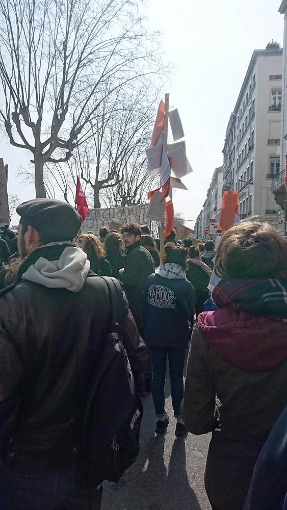 Bâtons, Mouvement sociaux 2016, Lyon