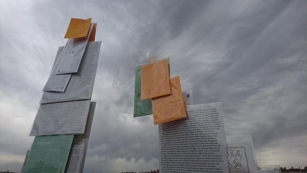 Bâtons, Mouvements sociaux 2016, Lyon