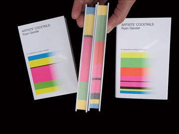 Artists' Cocktails, couvertures de la première et la seconde édition