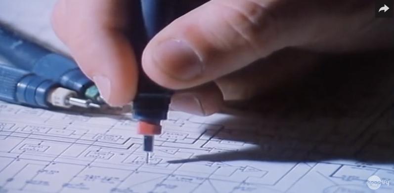 Capture d'écran du film de Jorge Furtado, L'île aux fleurs.