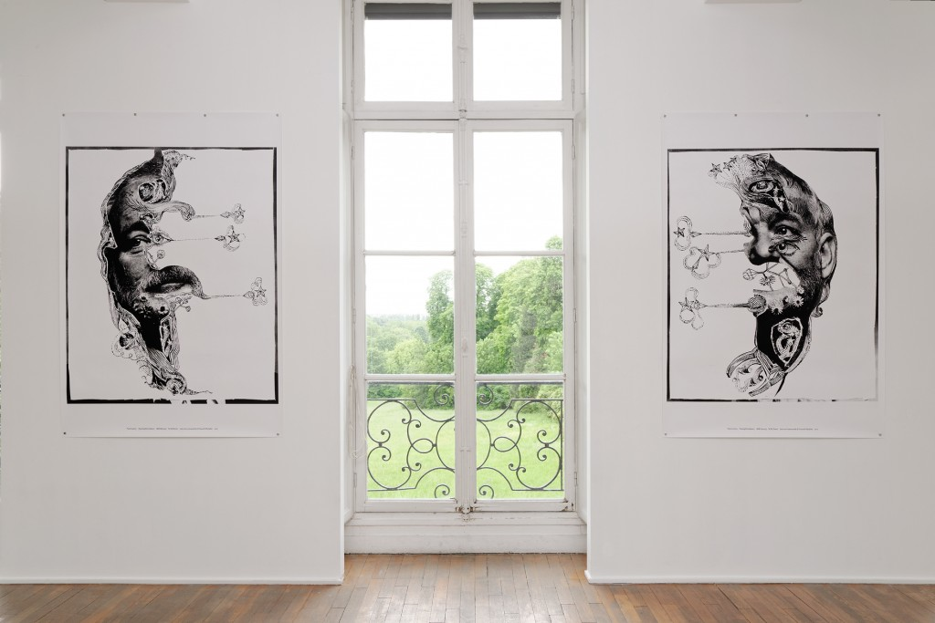 Vue de l'exposition «Ne te retourne pas»