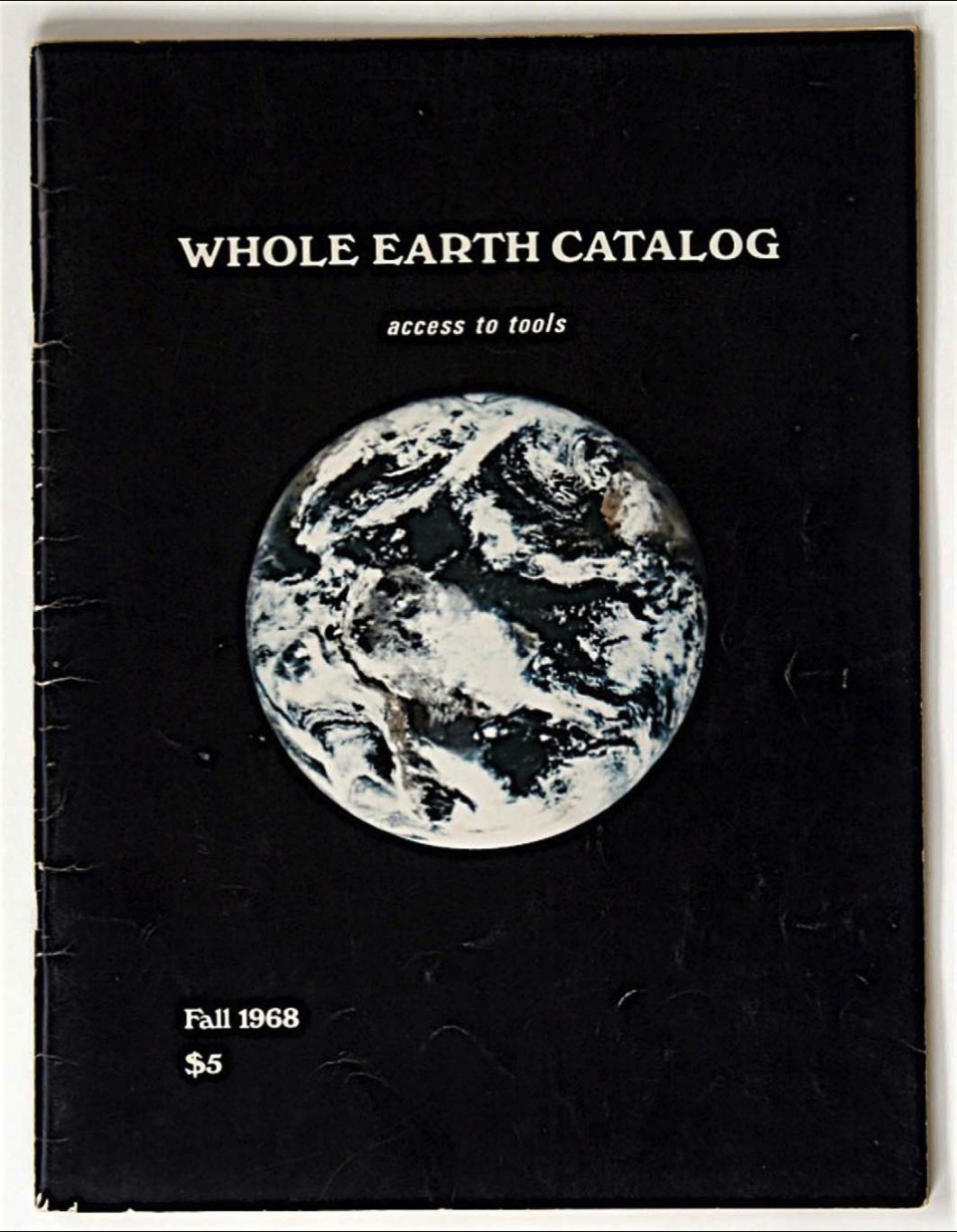 S. Brand, Whole Earth Catalog : New-York :  Access to tools, n° 1, automne 1968