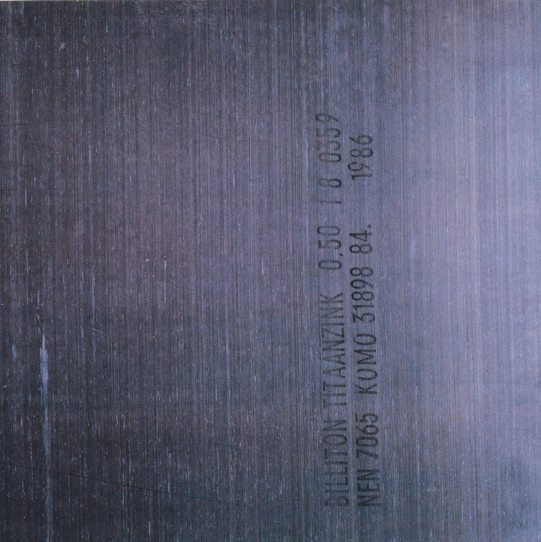 Fact 150 = New Order Brotherhood Album , 1986, Peter Saville Associates et Trevor Key
