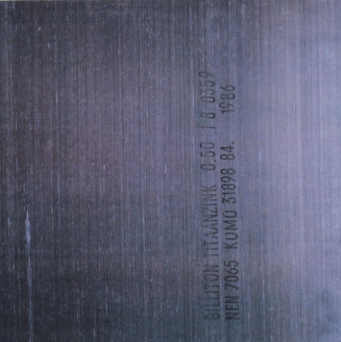 Fact 150 = New Order Brotherhood Album , 1986, Peter Saville Associates et Trevor Key