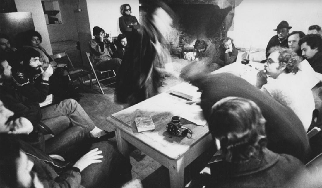 Sambuca, 1974, Archive Adolfo Natalini, Casabella _ 397, January 1975, Archive Casabella. Source : V. Borgonuovo, S. Franceschini,  Global Tools, 1973-1975, Istanbul: SALT/Garanti Kultur AŞ, 2015.