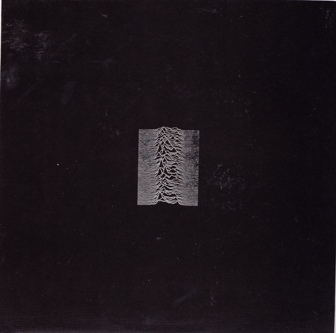 Peter Saville, Fac 10, Joy Division, UNknown pleasures, 1979