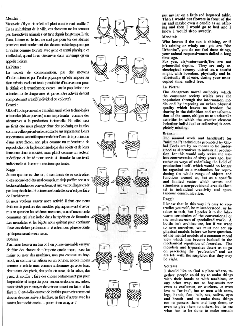 Global Tools, Bulletin n°2, 1975, p.14.