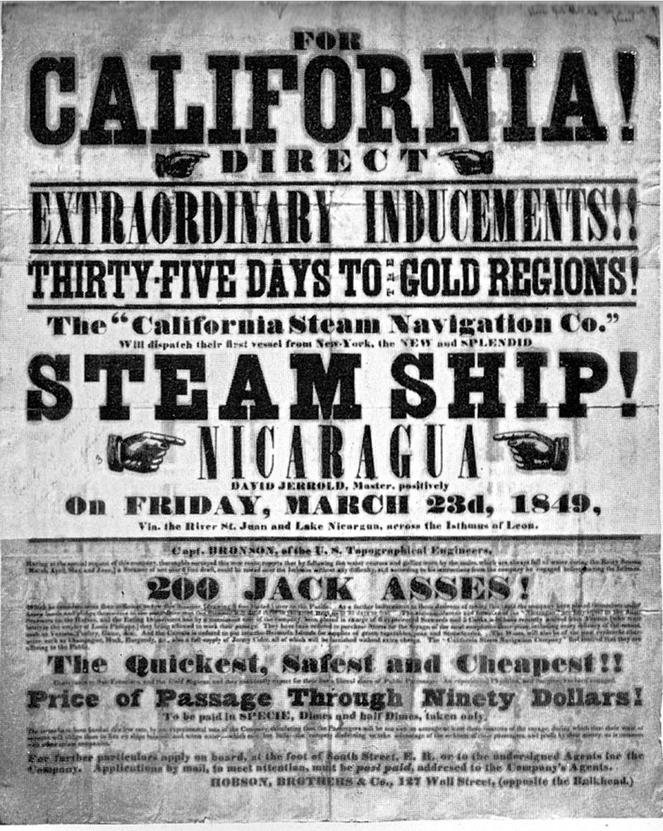 California Gold Rush, 1848–1855