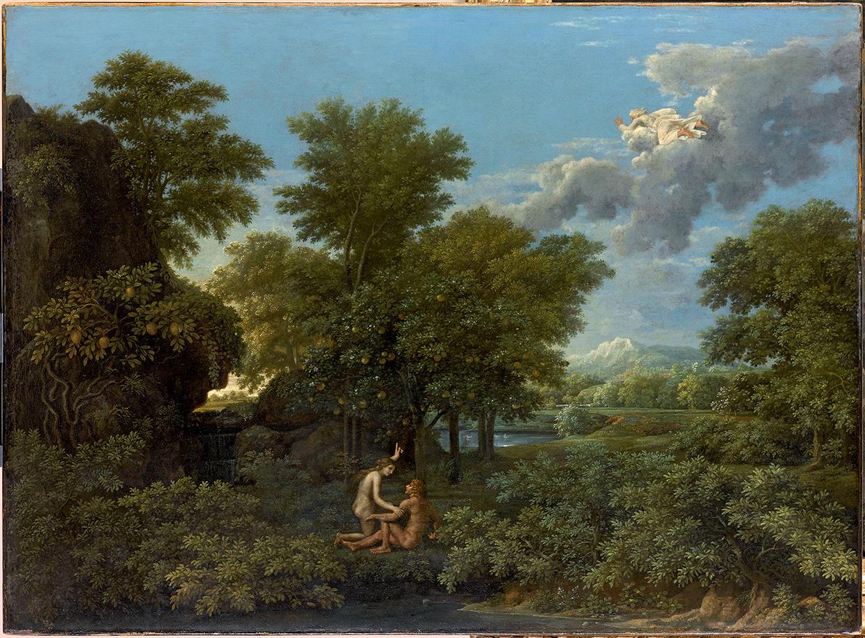 Nicolas Poussin, Le printemps ou Le Paradis terrestre, Paris, 1660-1664.