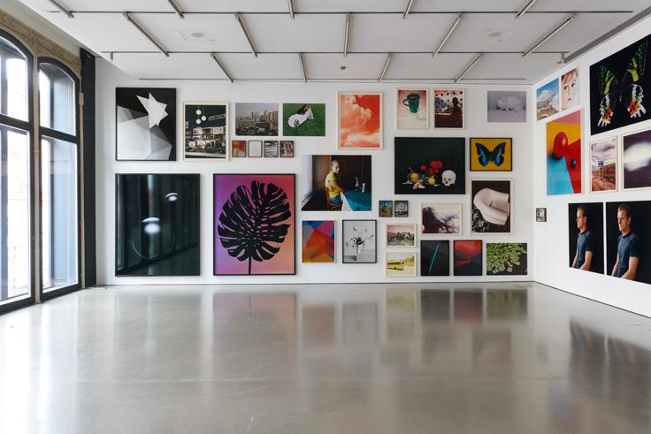 Camera Austria, exposition de Shirana Shahbazi à Graz, 2016