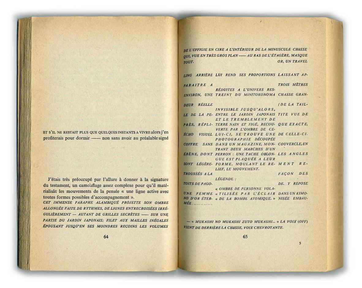 Maurice Roche, Compact, 10/18, 1976