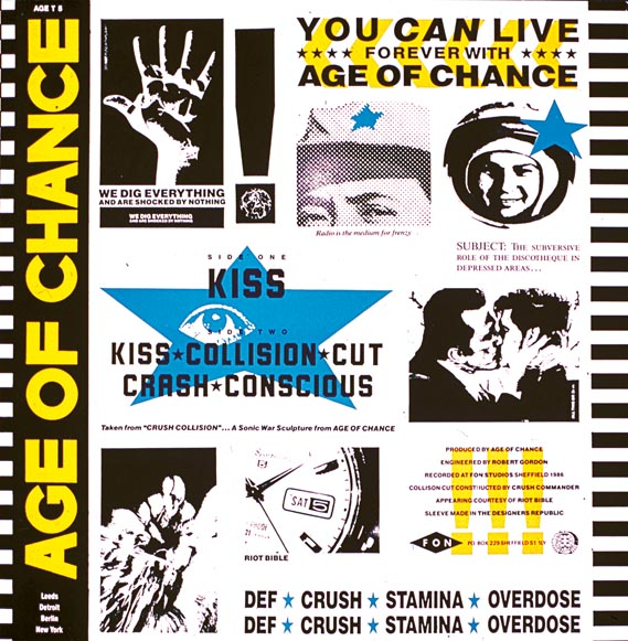 Age of chance, One thousand years of trouble, The Designers Republic, 1994