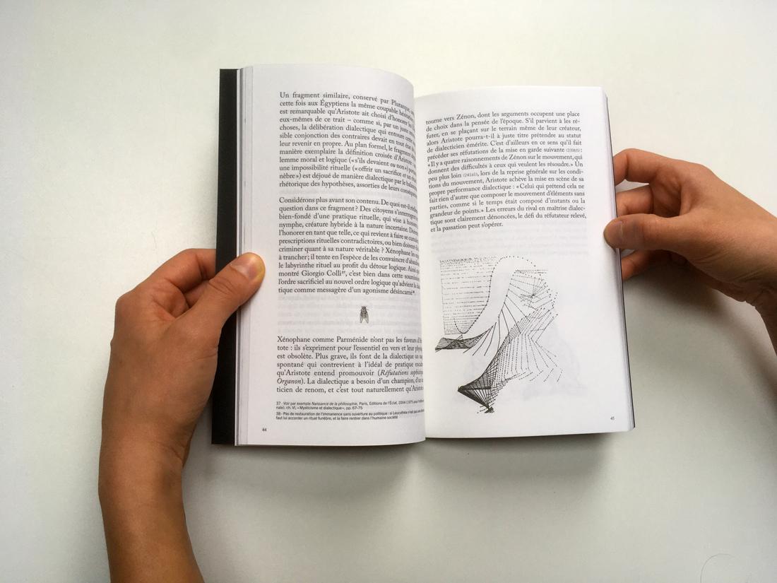 Marion Cachon, Nicolas Pineau, La cigale par les ailes, Æthalidès, Paris, 2019
