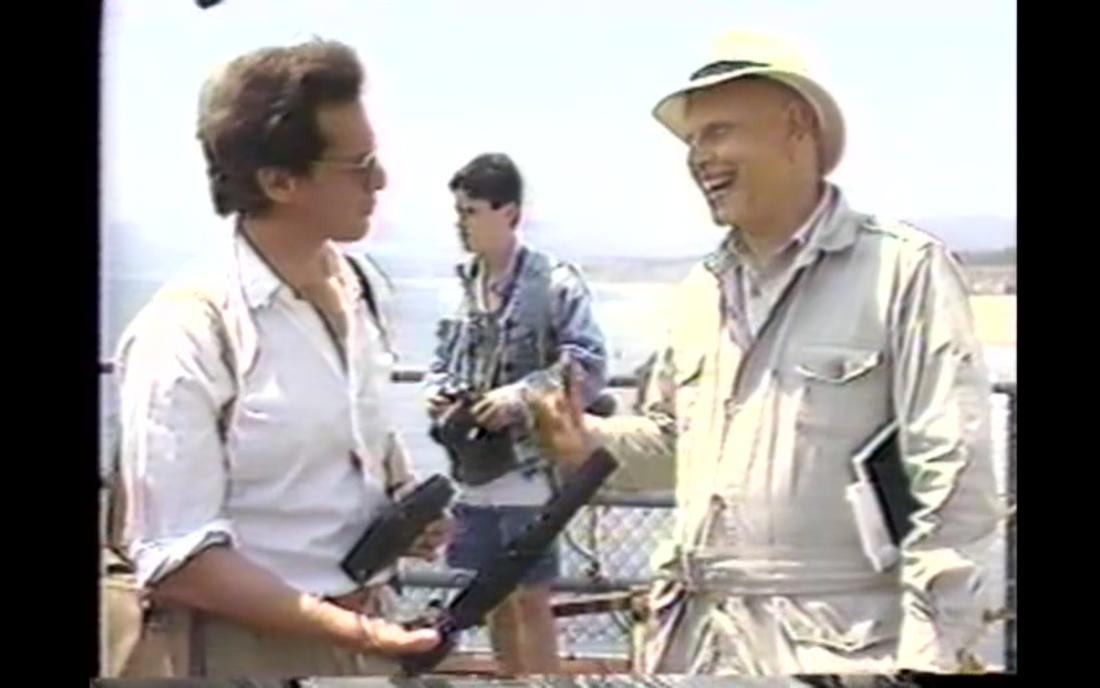 David Antin, Sky Poems, 1987, vidéo, Still