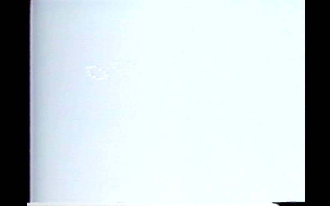 David Antin, Sky Poems, 1987, vidéo, Still