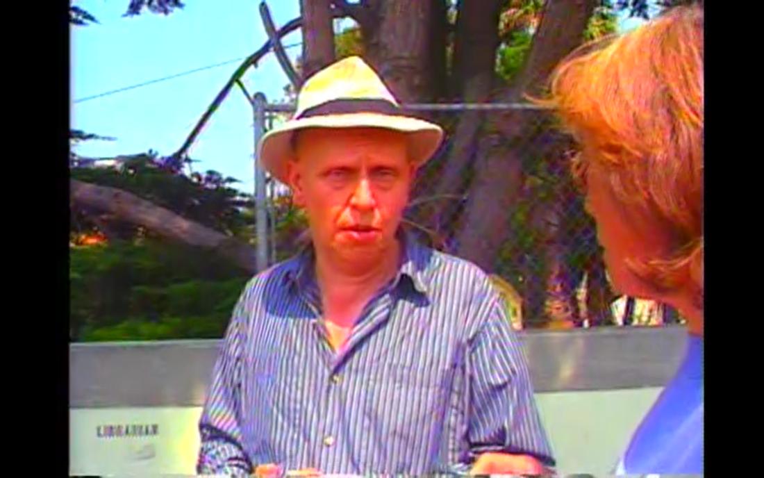 David Antin, Sky Poems, 1988, vidéo, Still